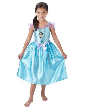 Deluxe Jasmin kostume til piger - Aladdin