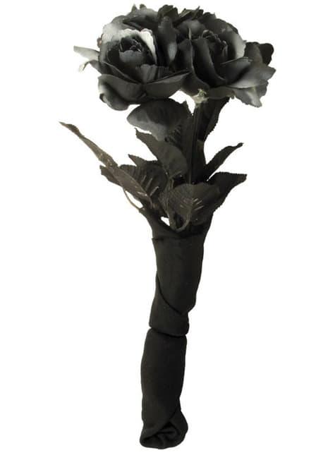 Temná svatební kytice