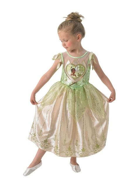 Disfraz de Tiana deluxe para niña - Tiana y el Sapo