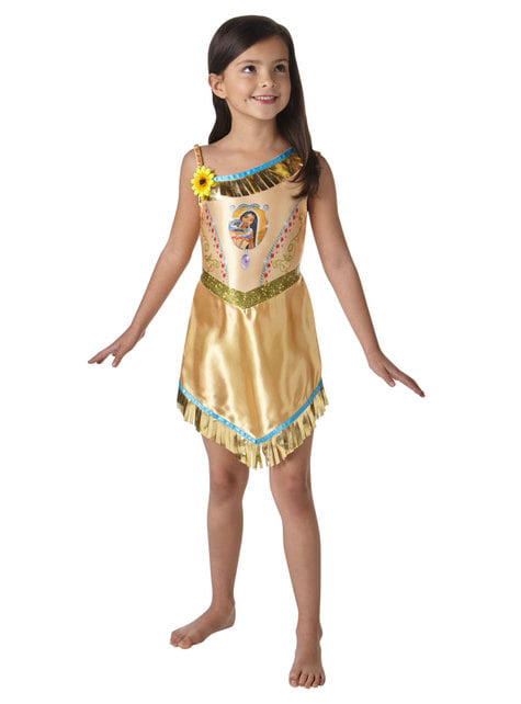 Pocahontas costume for girls