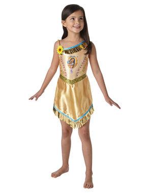 Disfraz de Pocahontas para niña