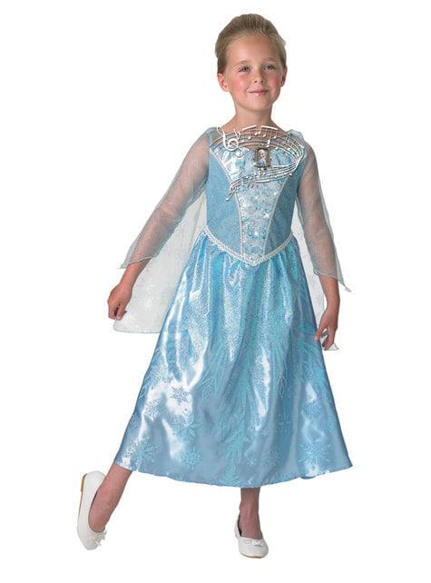 Elsa Frozen musical costume for girls - Frozen
