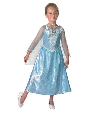 Costum Printesa Elsa muzical pentru fată - Regatul de gheață (Frozen)