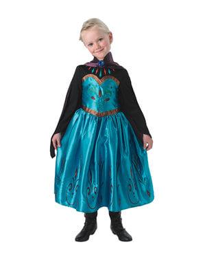 Elsa Frozen Krönung Kostüm für Mädchen - Frozen