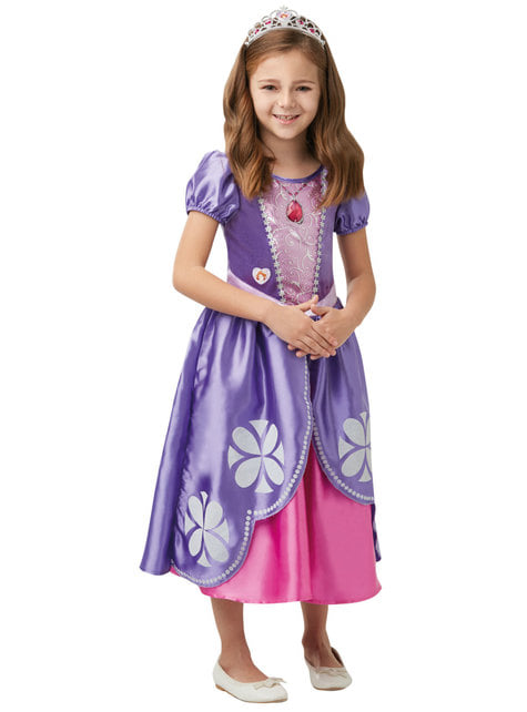 Deluxe Sofia the First costume for girls