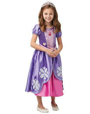 Fato de Princesa Sofia deluxe para menina