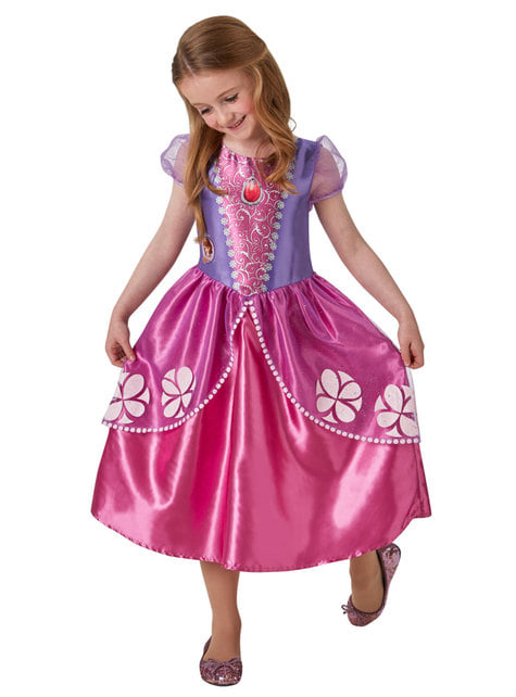 Disfraz de Princesa Sofía classic para niña