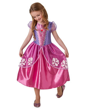 Klassisk Sofia den Første kostyme til jenter
