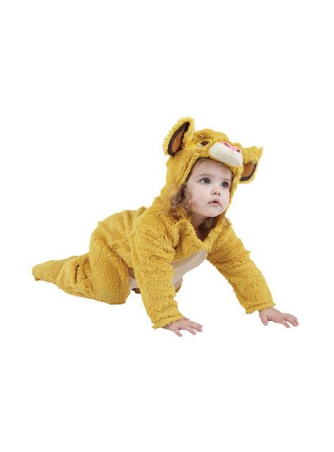 Disfraz de Simba para bebé - El Rey León