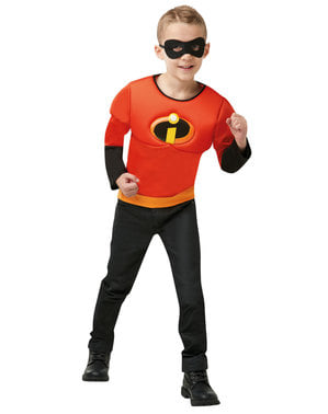 Kit disfarce de Dash para menino - The Incredibles 2: Os Super-Heróis