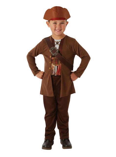 Jack Sparrow Kostüm classic für Jungen - Fluch der Karibik