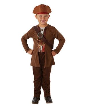 Pirates of the Caribbean - kassisk Jack Sparrow kostume til drenge