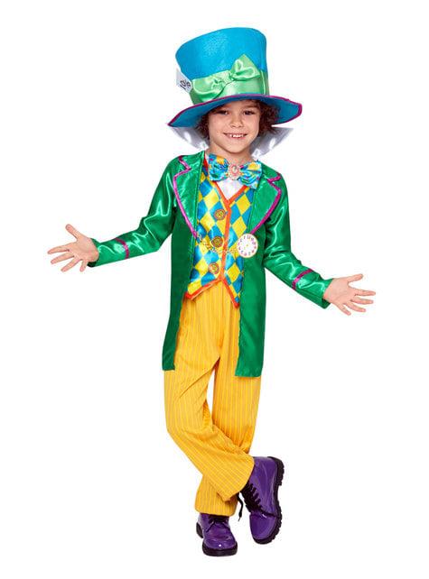 Disfraz de Sombrerero loco para niño - Alicia en el País de las Maravillas