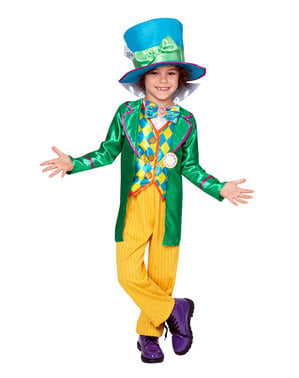 Costume da cappellaio matto per bambino - Alice Nel Paese delle Meraviglie