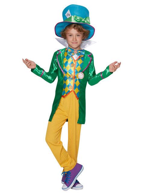 Disfraz de Sombrerero loco para adolescente niño - Alicia en el País de las Maravillas