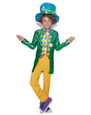 Chlapecký kostým pro teenagery Bláznivý kloboučník - Alenka v říši divů