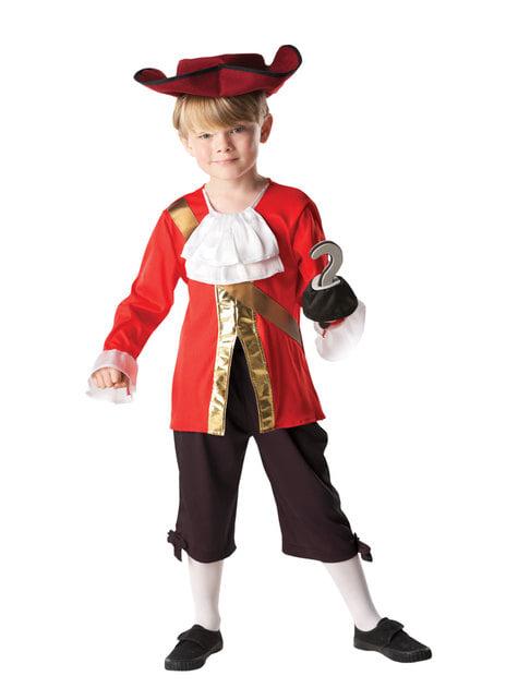 Disfraz de Capitán Garfio para niño