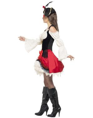 Sexy Korsarin Kostüm für Damen
