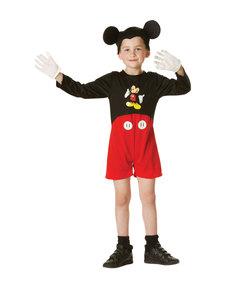 Klassisk Mikke Mus kostyme til gutt