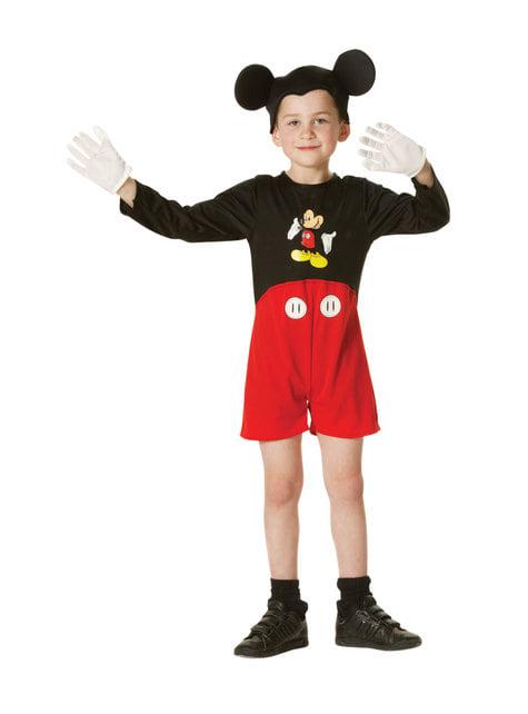 Disfraz de Mickey Mouse para niño