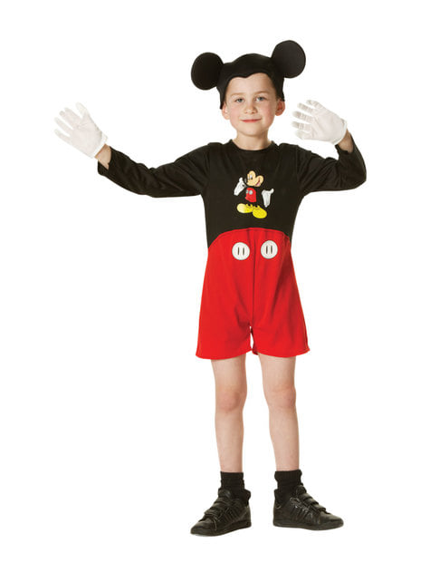Mickey Mouse costume for boy