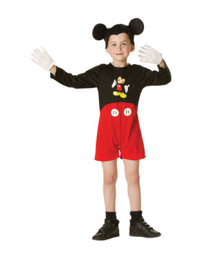 Klassiek Mickey Mouse kostuum voor jongens