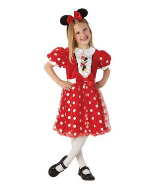 Fato de Minnie Mouse para menina