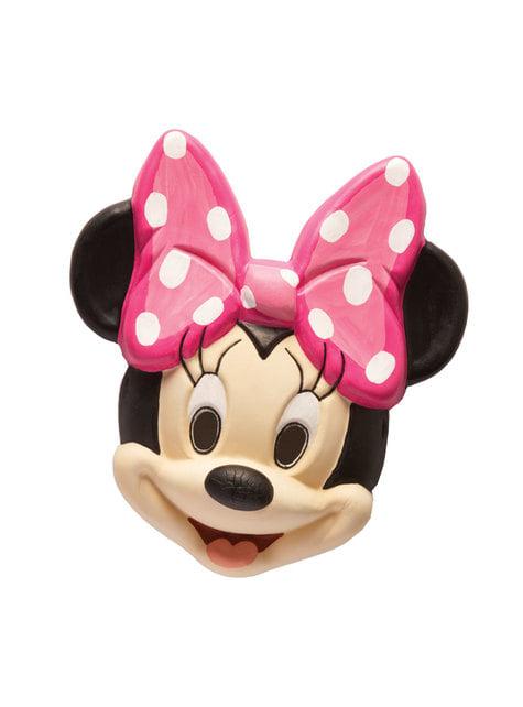 Máscara de Minnie Mouse infantil