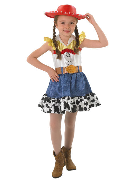 Disfraz de Jessie deluxe para niña - Toy Story