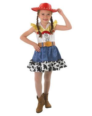 Deluxe Jessie kostume til piger - Toy Story