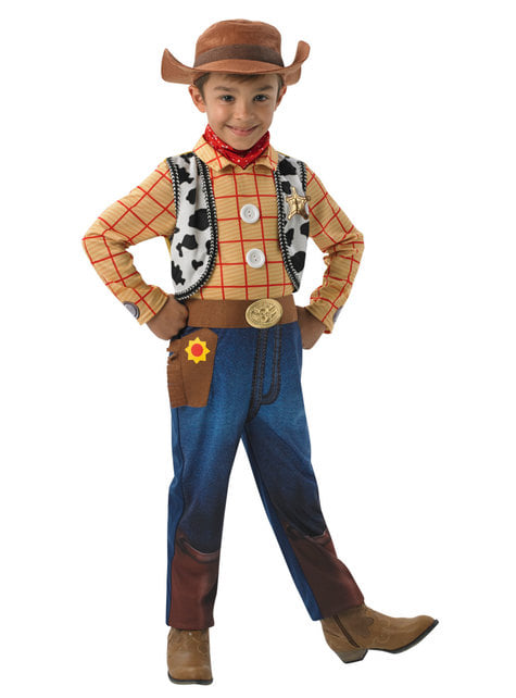 Woody Kostüm deluxe für Jungen - Toy Story