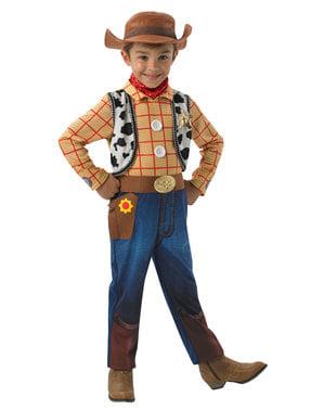 Deluxe Woody kostyme til gutter - Toy Story