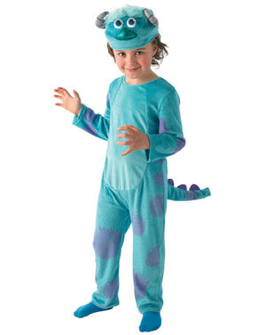 Deluxe Sulley costume for kids - Monster University