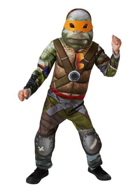 Maskeraddräkt Ninja Turtle muskulös barn - Teenage Mutant Ninja Turtles: Out of the Shadows