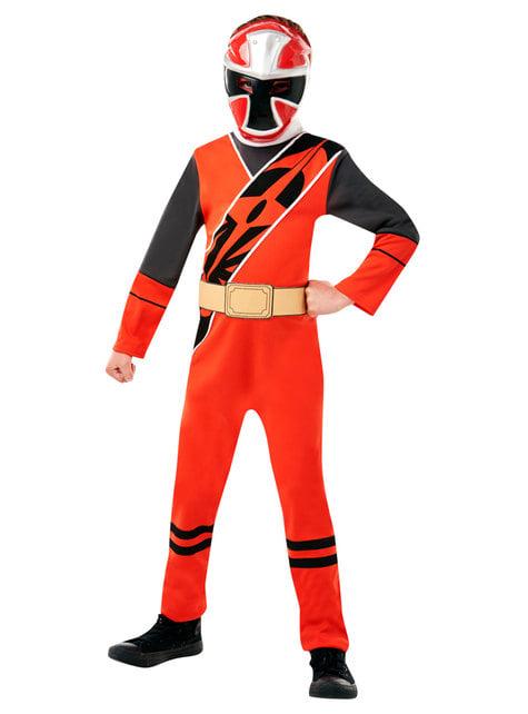 Red Power Ranger costume for boys - Power Rangers Ninja Steel