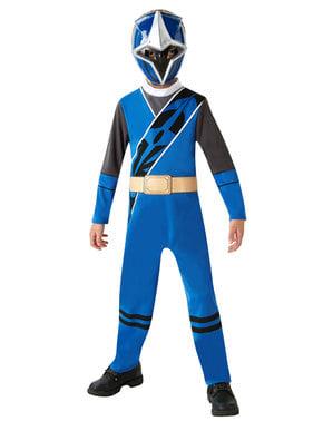 लड़कों के लिए ब्लू पावर रेंजर पोशाक - पावर रेंजर्स निंजा स्टील