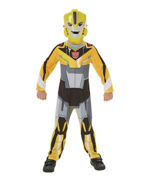 Fato de Bumblebee para menino - Transformers Robots in Disguise