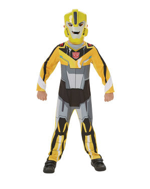 Transformers Robots in Disguise - Bumblebee kostume til drenge - Transformers Robots in Disguise