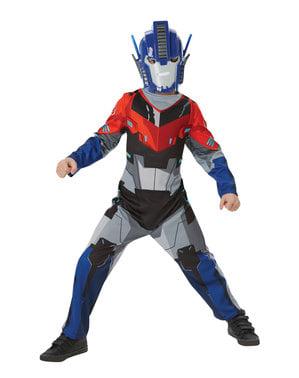 Fato de Optimus Prime para menino - Transformers Robots in Disguise