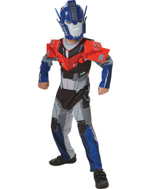 Costume di Optimus Prime deluxe per bambino - Transformers Robots in Disguise