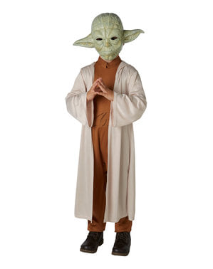 Costume maestro Yoda per bambino con maschera