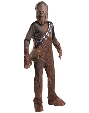 Chewbacca børne kostume - Han Solo: A Star Wars Story