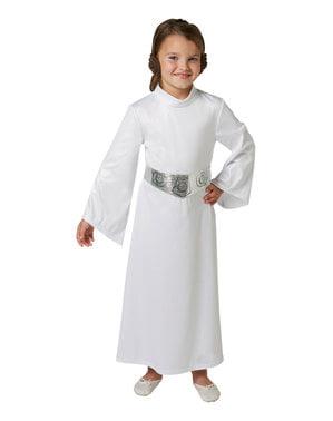 Maskeraddräkt Prinsessan Leia barn - Star Wars