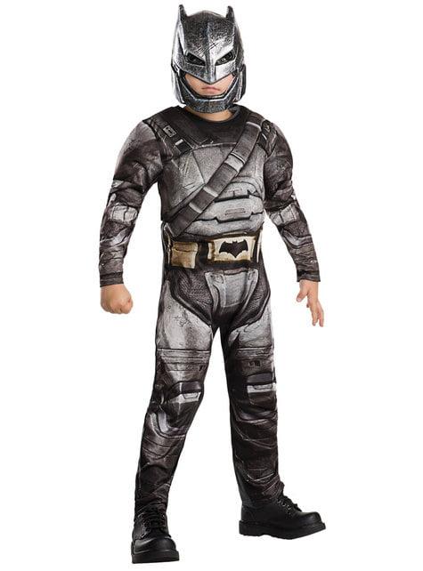 Disfraz de Batman armadura deluxe para niño - Batman V Superman