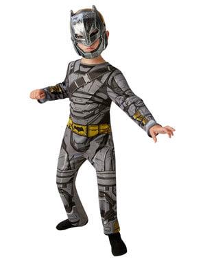 Fato de Batman armadura classic para menino - Batman vs Super-Homem