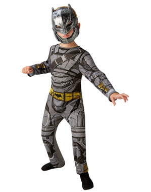 Klassiek Batman pantser kostuum voor jongens - Batman V Superman
