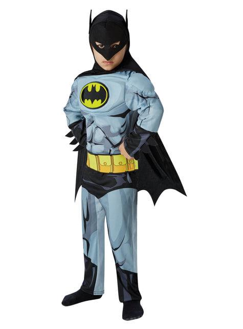 Disfraz de Batman musculoso para niño - DC Comics
