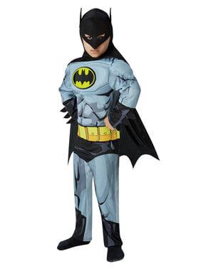 Muskulöses Batman Kostüm für Jungen - DC Comics