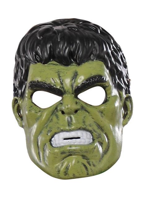 Máscara De Hulk Infantil Marvel Entrega 24h Funidelia