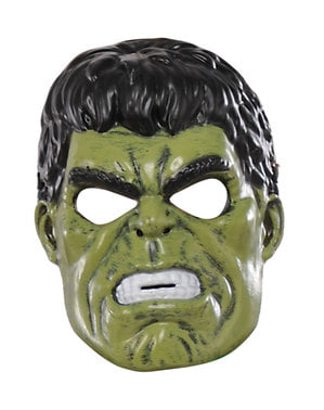 Hulk Maske für Kinder - Marvel